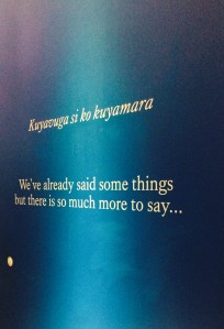 quote from the exhibition